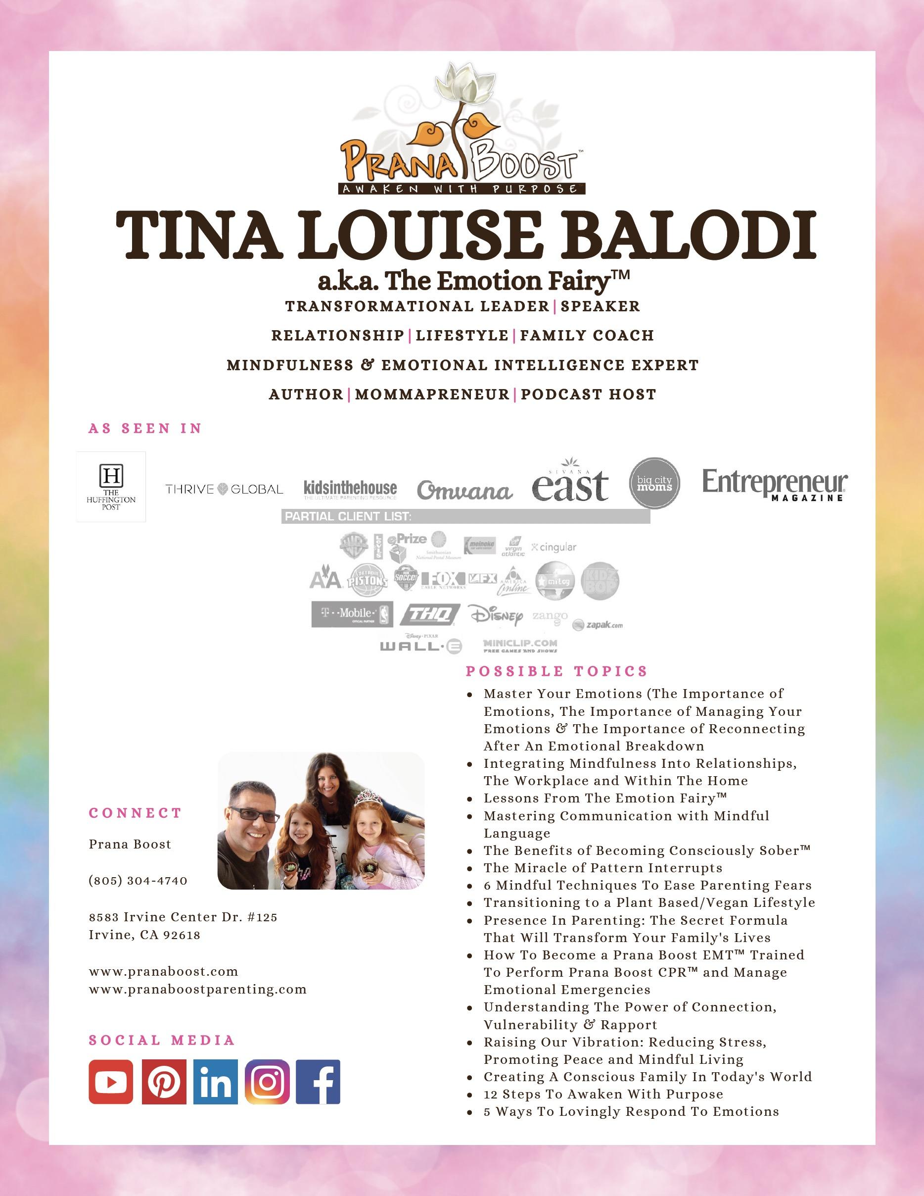 Tina Louise Balodi