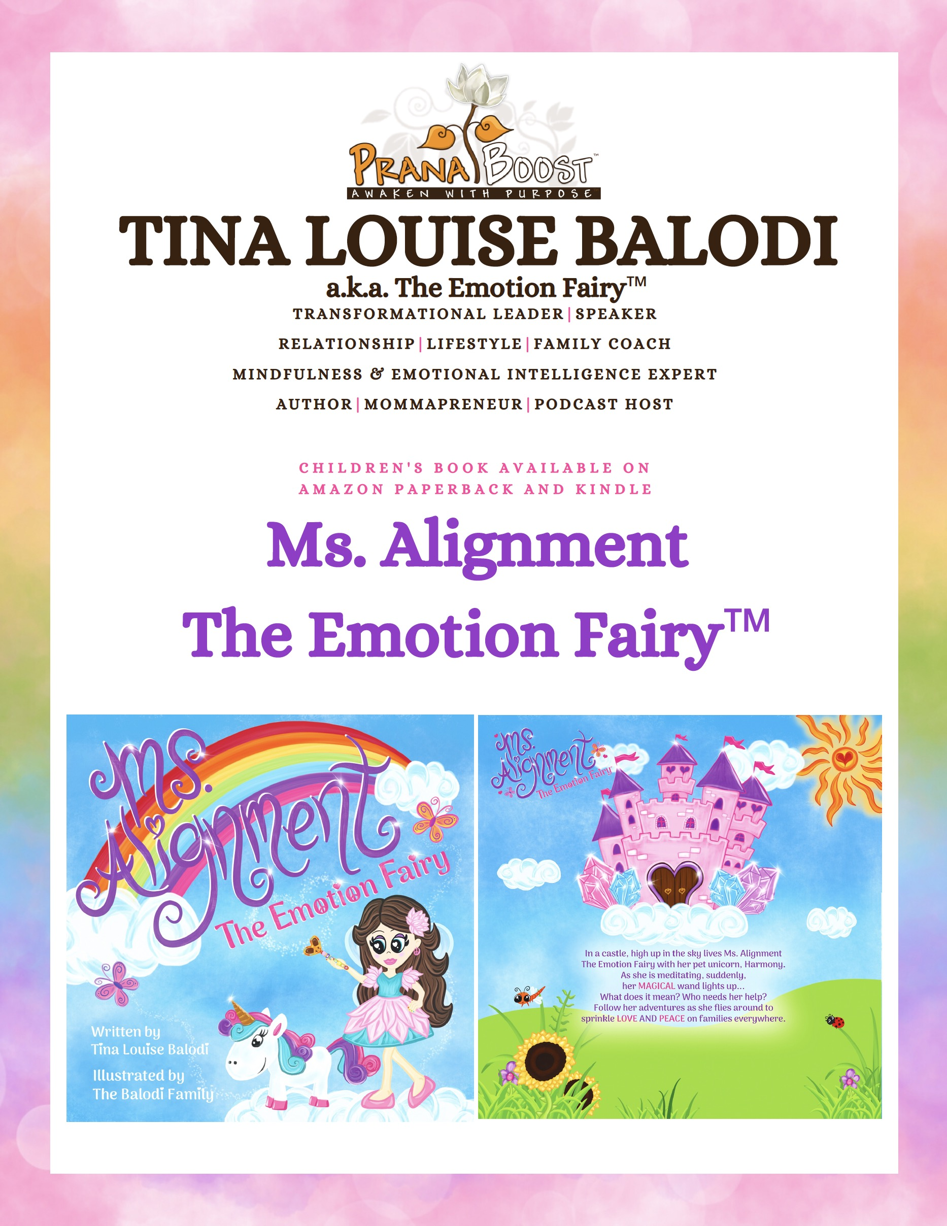 Ms. Alignment The Emotion Fairy™